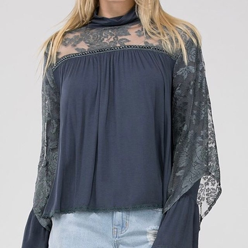 Unknown Factory Lace Blouse - Main Image