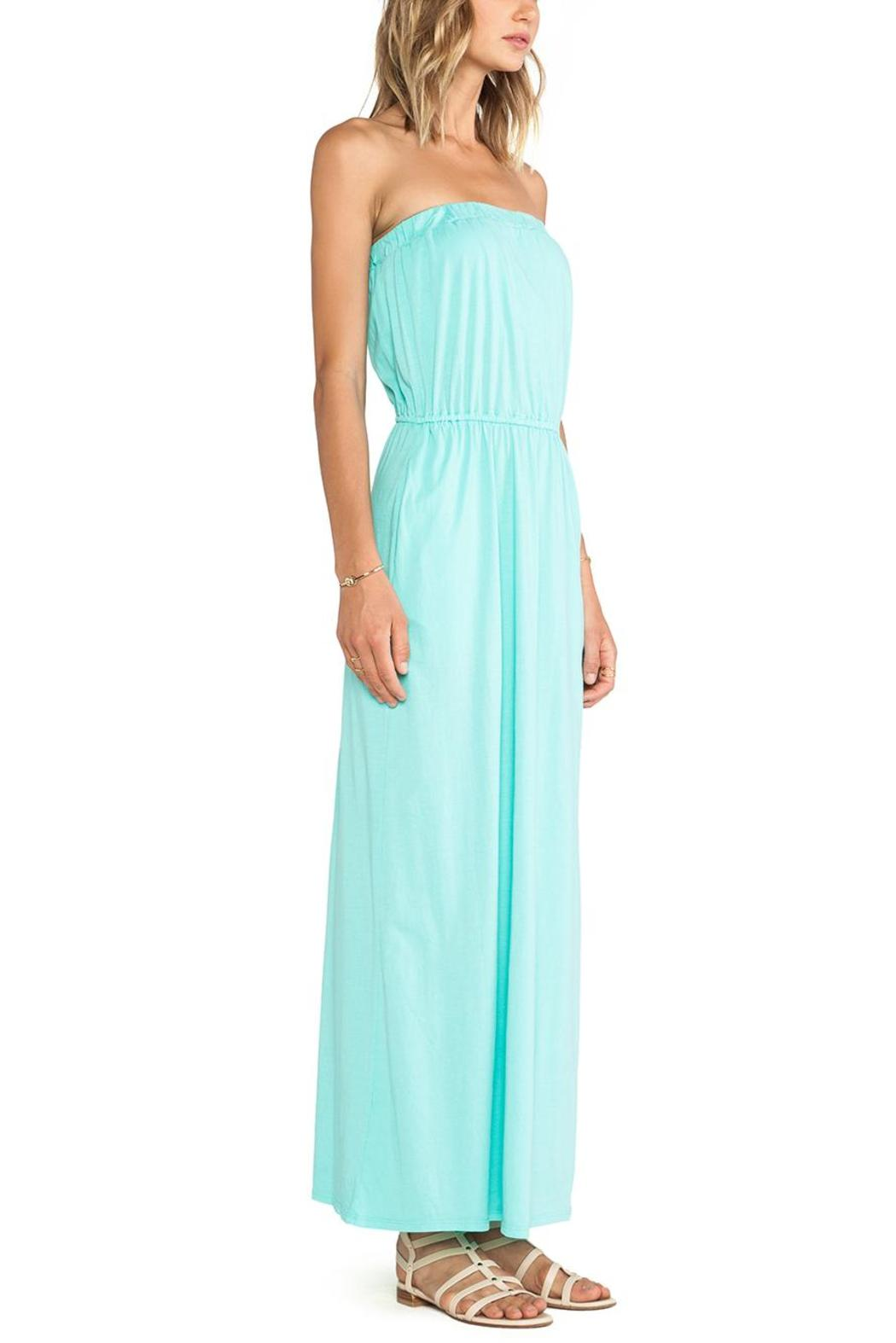Bobi Los Angeles Aqua Maxi Dress from Wicker Park by Mulberry &amp- Me ...