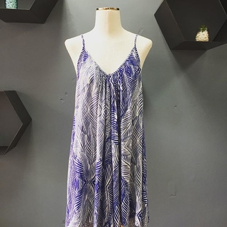 Printed Trapeze Dress  - Instagram Image