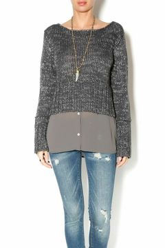 Uldahl Faux-layered Sweater - Product List Image