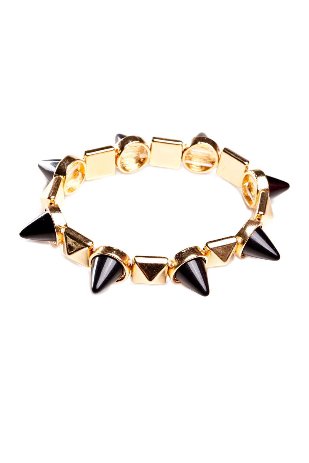 Number A Spiked Out Bracelet - Main Image