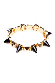 Number A Spiked Out Bracelet - Front cropped