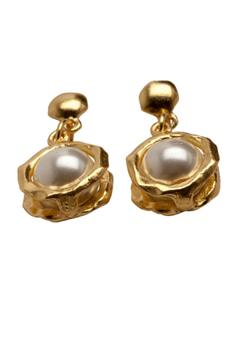 Shoptiques Product: Gold Drop Earrings