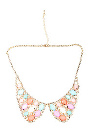 Shoptiques Product: Collar Necklace - Front cropped