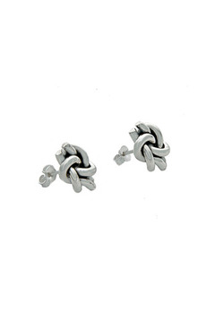 Salvador Jouhayerk Double Knot Stud Earrings - Alternate List Image