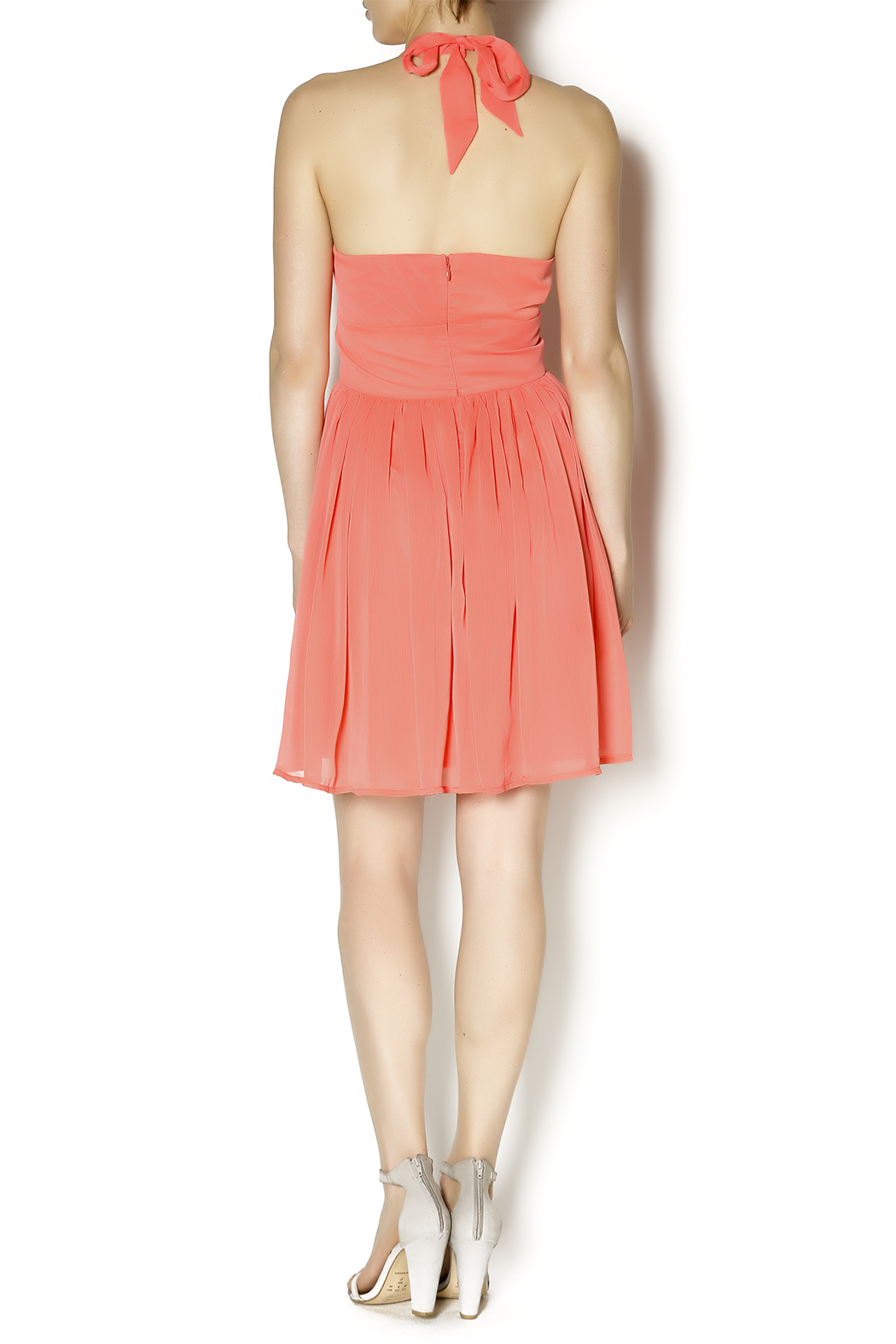 BB Dakota Amrei Halter Dress - Side Cropped Image