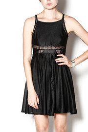Shoptiques Product: Leather & Lace Dress