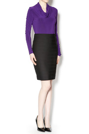 Joseph Ribkoff Bandage Mini Skirt - Front full body