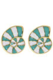Fornash Striped Ocean Earring - Front cropped