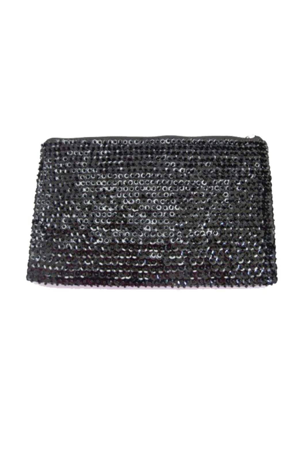 tu-anh Black Clutch - Front Cropped Image