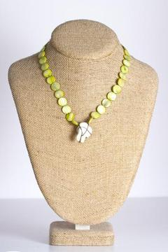 Shoptiques Product: Green Flat Pearl