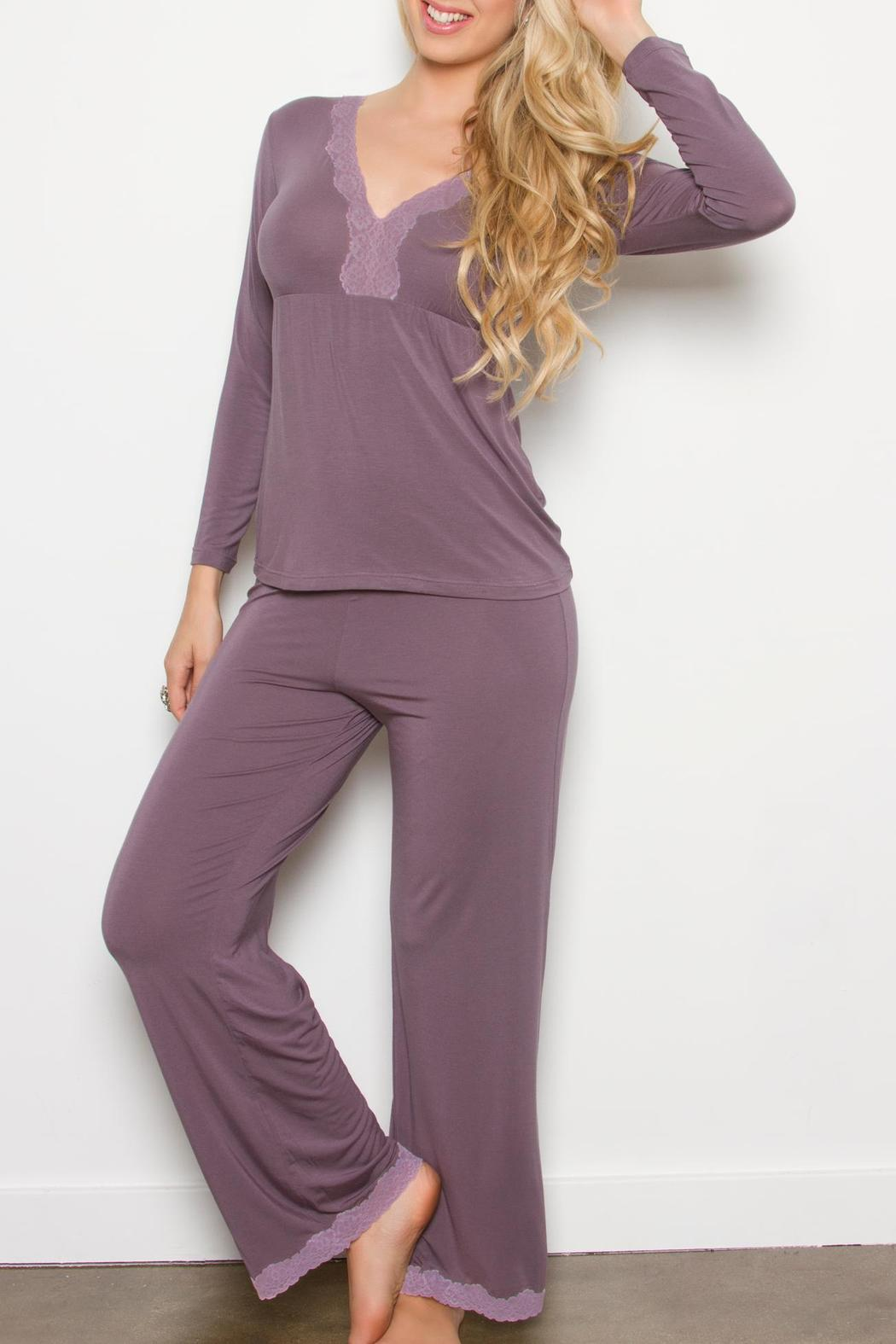 Tia Lyn Bliss Pajamas - Front Cropped Image
