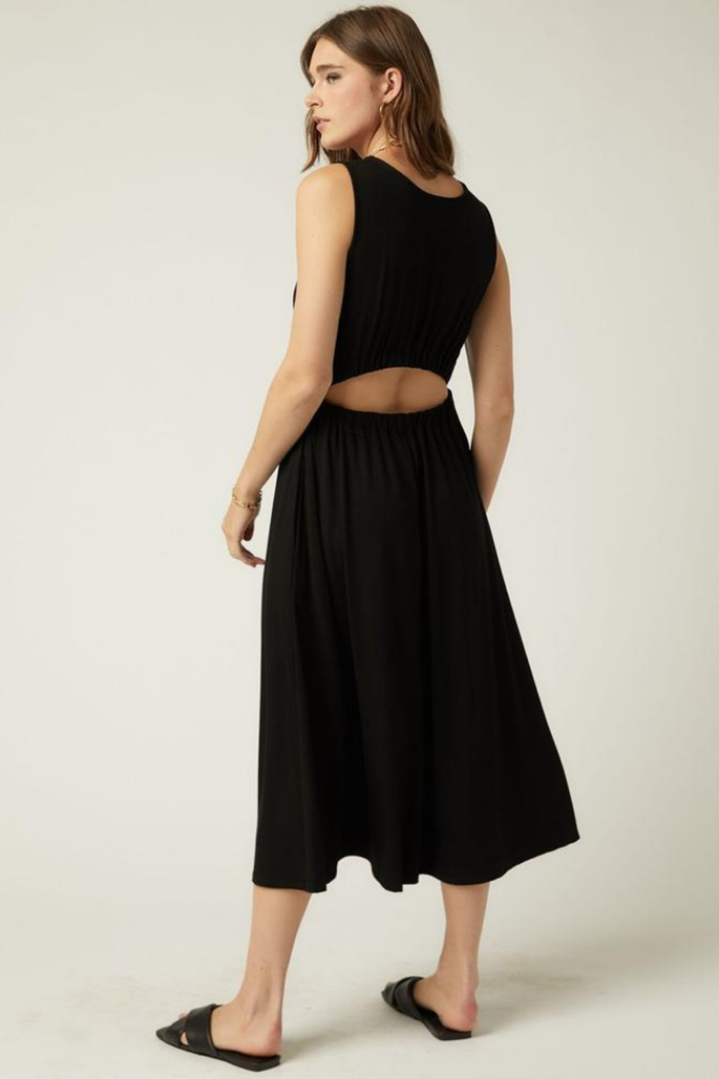 Fifteen Twenty 1F14060 - Open Back Dress - Side Cropped Image
