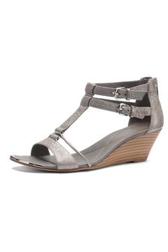 Shoptiques Product: T-Strap Sling Wedge