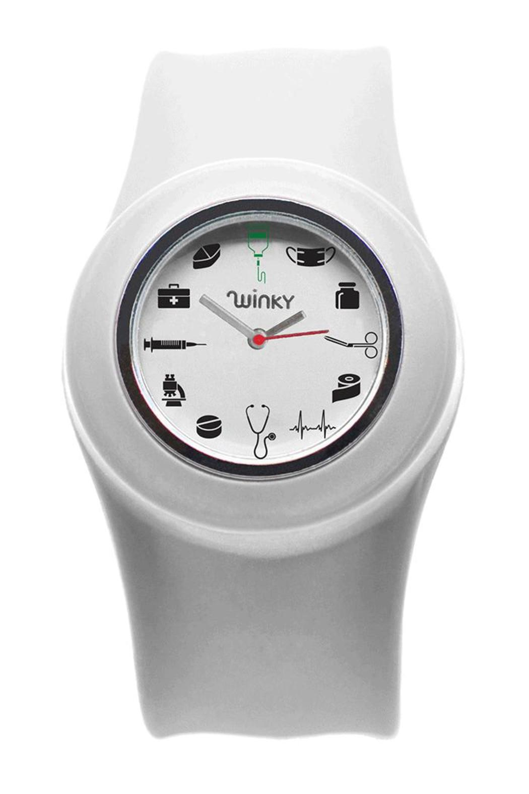 Winky Designs Doctor Slap Watch - Front Cropped Image