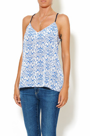 Chic Style Floral Resort Cami - Front cropped