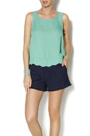Byrds Mint Fashionable Tank - Front cropped
