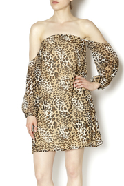 Turquoise Haven Leopard Dress - Product Mini Image
