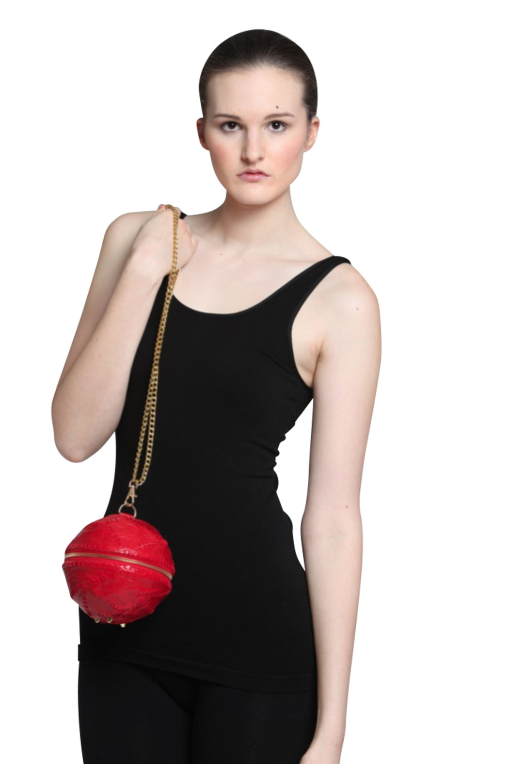 Maya Luz Ball and Chain Bag - Front Cropped Image
