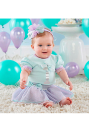 Baby Aspen 1st Birthday 3 Piece Party Outfit - Product Mini Image