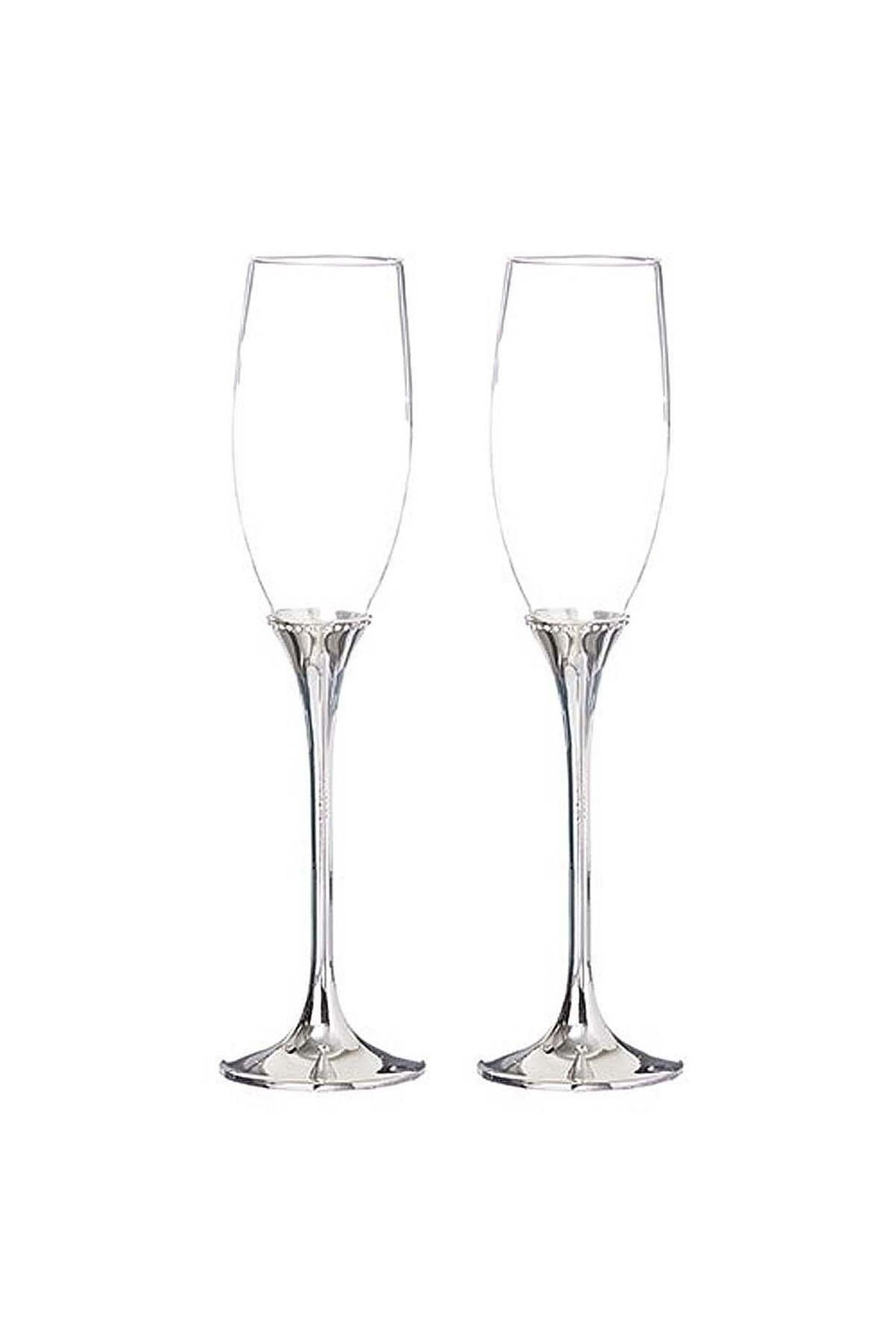 Gift Craft 2 Champagne Glasses - Main Image