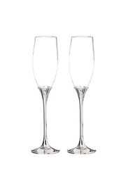 Gift Craft 2 Champagne Glasses - Front cropped