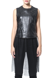 Madonna & Co 2-In-1 Leather Vest - Product Mini Image