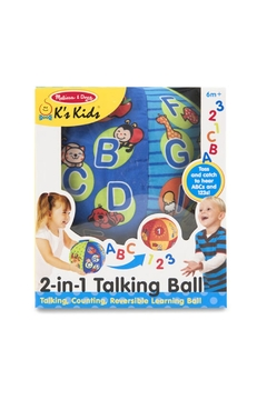 Melissa & Doug 2 in 1 Talking Ball - Alternate List Image