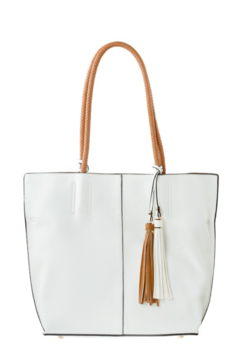 Emperia 2-in-1 Braided Handle Tote Bag - Product List Image