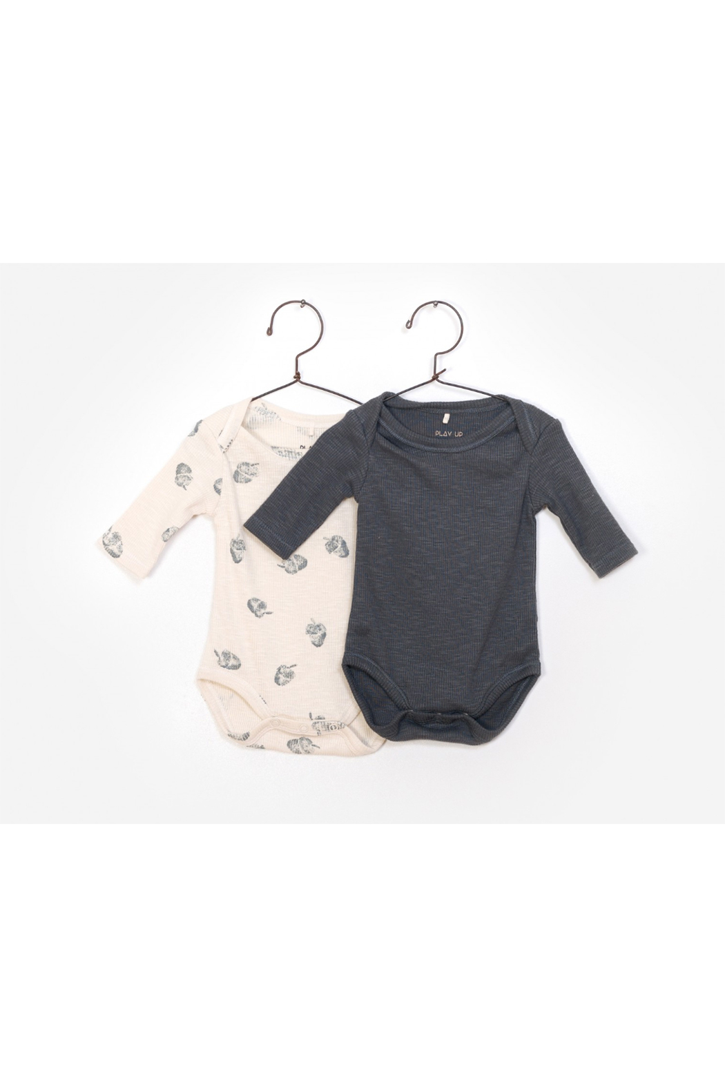 Play Up 2 Pack Flamé Bodysuits - Main Image