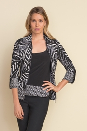 Joseph Ribkoff  2 Pc Black/White Jacket - Product Mini Image