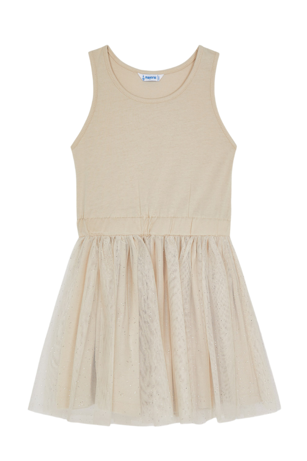 Mayoral 2 Piece Eliana Voile Dress - Side Cropped Image