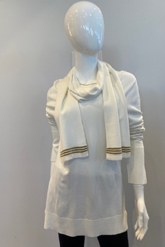 Katherine Barclay 2 Piece Scarf Sweater - Product List Image
