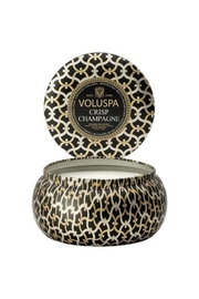Voluspa 2 Wick Crisp Champagne Maison Tin Candle - Product Mini Image