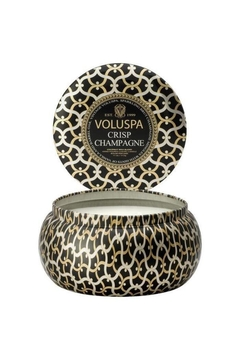 Voluspa 2 Wick Crisp Champagne Maison Tin Candle - Alternate List Image