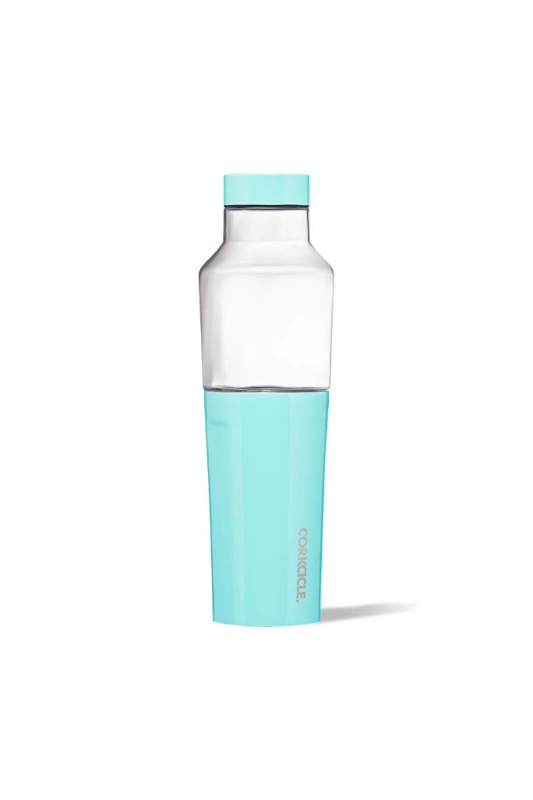 Corkcicle 20 OZ HYBRID CANTEEN-GLOSS TURQUOISE - Main Image