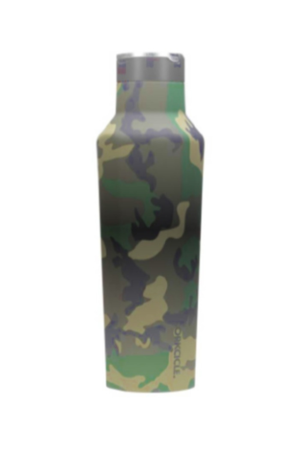 Corkcicle 20 OZ WOODLAND CAMP SPORT CANTEEN - Front Cropped Image