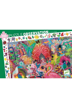 Djeco  200 Piece Observation Puzzle - Carnaval - Product List Image