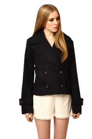 Shoptiques Product: Cropped Silas Peacoat