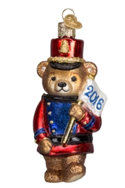 Old World Christmas 2016 Marching Teddy - Product Mini Image