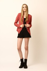 Shoptiques Product: Tuxedo One-Button Blazer - Front full body