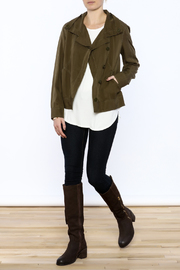 209 Group Light Weight Cropped Jacket - Front full body