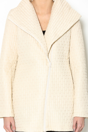 209 West Quilted Cream Jacket - Other