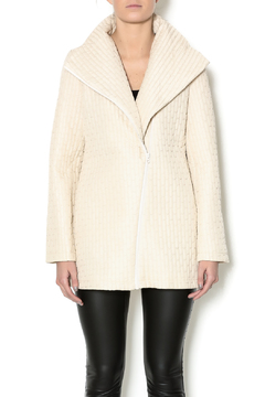 209 West Quilted Cream Jacket - Product List Image