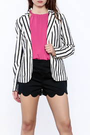 209 West Striped Blazer - Front cropped