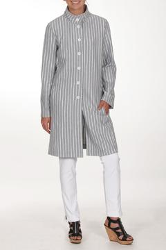 209 West Grey Striped Jacket - Product List Image