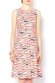 Shoptiques Product: Coral Darted-Shell Dress