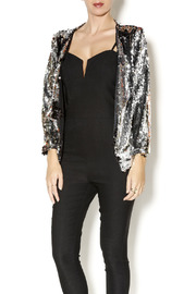 SYLK Cropped Sequin Blazer - Product Mini Image