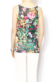 Glamorous Floral Mesh Jersey - Back cropped