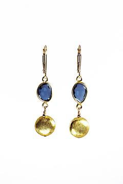 Melinda Lawton Jewelry London Blue Earrings - Product List Image